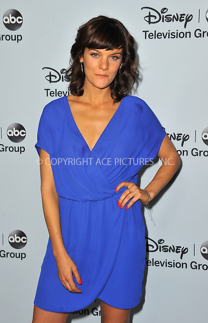 WWW.ACEPIXS.COM<br /> <br /> January 17 2014, LA<br /> <br /> Frances Shaw arriving at the ABC/Disney TCA Winter Press Tour party at The Langham Huntington Hotel and Spa on January 17, 2014 in Pasadena, California.<br /> <br /> By Line: Peter West/ACE Pictures<br /> <br /> <br /> ACE Pictures, Inc.<br /> tel: 646 769 0430<br /> Email: info@acepixs.com<br /> www.acepixs.com
