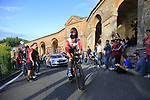Roger Kluge (GER) Lotto-Soudal on the San Luca climb during Stage 1 of the 2019 Giro d'Italia, an individual time trial running 8km from Bologna to the Sanctuary of San Luca, Bologna, Italy. 11th May 2019.<br /> Picture: Eoin Clarke | Cyclefile<br /> <br /> All photos usage must carry mandatory copyright credit (© Cyclefile | Eoin Clarke)