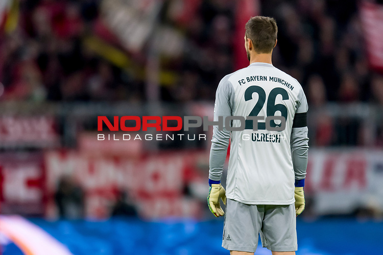 09.02.2019, Allianz Arena, Muenchen, GER, 1.FBL,  FC Bayern Muenchen vs. FC Schalke 04, DFL regulations prohibit any use of photographs as image sequences and/or quasi-video, im Bild Sven Ulreich (FCB #26) <br /> <br />  Foto © nordphoto / Straubmeier