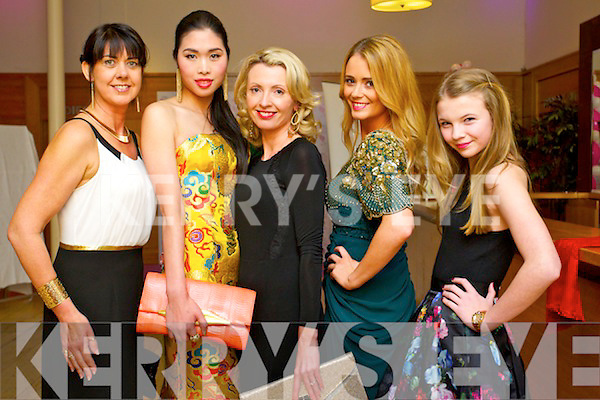 Liz Galwey, Castleisland, Danny Xu, Tralee, Orla Diffily, Ballyfinane, Aisling O'Sullivan,Tralee  and Zoe O'Connor, Ballyfinane enjoying the Hi Style awards, held in the Silver Springs hotel, Cork on Saturday evening.