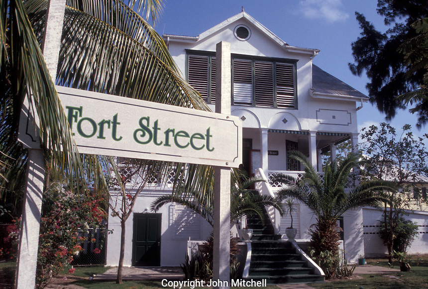 The Fort Street Guest House in the Fort George District of  Belize City, Belize