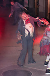 Dancers perform to Michael Jackson's Thriller at Heidi Klum's 18th Annual Halloween Party presented by Party City and SVEDKA Vodka at Magic Hour Rooftop Bar & Lounge at Moxy Times Square, on October 31, 2017.