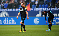 FUSSBALL   1. BUNDESLIGA   SAISON 2012/2013    27. SPIELTAG FC Schalke 04 - TSG 1899 Hoffenheim                       30.03.2013 Patrick Ochs (TSG 1899 Hoffenheim) ist nach dem Abpfiff enttaeuscht