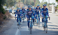 Enrico Gasparotto (ITA/Wanty-Groupe Gobert) & Antoine Demoitié (BEL/Wanty-Groupe Gobert) riding up front<br /> <br /> Pro Cycling Team Wanty-Groupe Gobert <br /> <br /> Pre-season Training Camp, january 2016