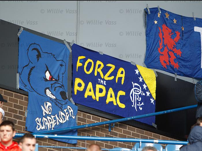 Rangers fans banners