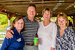 WATERTOWN, CT. 17 May 2018-051718BS92 - Joann Basile of Plymouth, Jesse Peterson of Harwinton, Maureen Pennington of Plymouth, and Paula LaBonte of Watertown at the Greater Waterbury Campership Fund's Big Green Pizza Truck Party at the YMCA'S Camp Mataucha on Thursday evening. Bill Shettle Republican-American