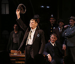 """Robert Morse during the Broadway Opening Night performance curtain call bows for """"The Front Page""""  at the Broadhurst Theatre on October 20, 2016 in New York City."""