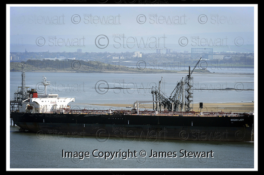 "27/04/2008   Collect Pic: James Stewart.File Name : sct_jspa02_ineos.HE MASSIVE TANKER, ""OCEAN LADY"" SITS MOORED AT HOUND POINT, SOUTH QUEENSFERRY....James Stewart Photo Agency 19 Carronlea Drive, Falkirk. FK2 8DN      Vat Reg No. 607 6932 25.Studio      : +44 (0)1324 611191 .Mobile      : +44 (0)7721 416997.E-mail  :  jim@jspa.co.uk.If you require further information then contact Jim Stewart on any of the numbers above........"