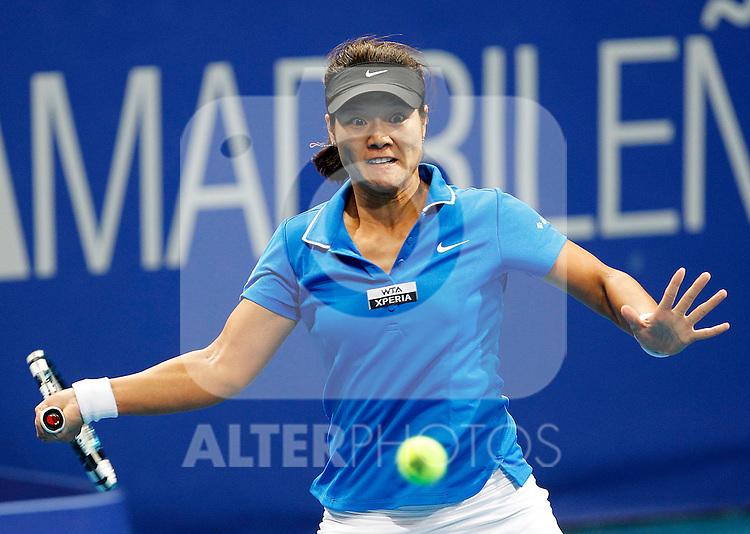 Na LI during Madrid Open Tennis 2012 Match.May, 7, 2012(ALTERPHOTOS/ALFAQUI/Acero)