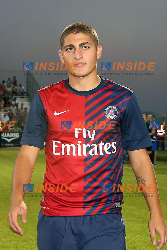 Marco VERRATTI (PSG) .Ajaccio 19/8/2012.Football Calcio Ligue 1 2012/2013.Ajaccio Vs PSG.Foto Insidefoto / Panoramic.ITALY ONLY