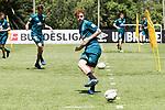 09.01.2019, Trainingsgelaende Randburg Football Club, Johannesburg, RSA, TL Werder Bremen Johannesburg Tag 07<br /> <br /> im Bild / picture shows <br /> <br /> Joshua Sargent (Werder Bremen #19)<br /> <br /> Foto &copy; nordphoto / Kokenge