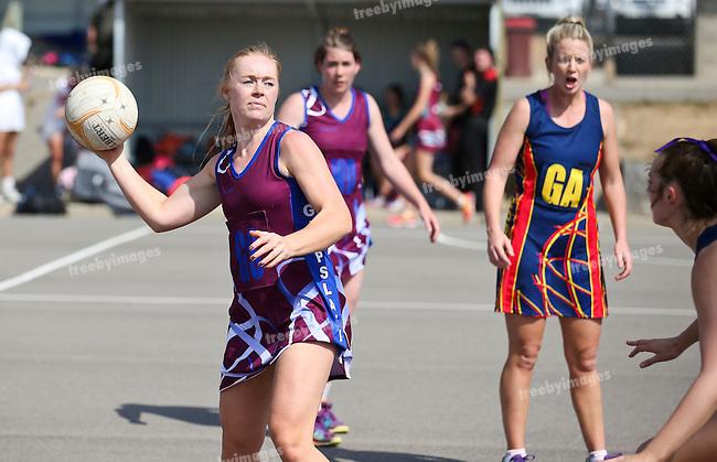 10/10/2015<br /> Netball Victoria State Titles 2015<br /> Bendigo Day 1<br /> Photo: Grant Treeby