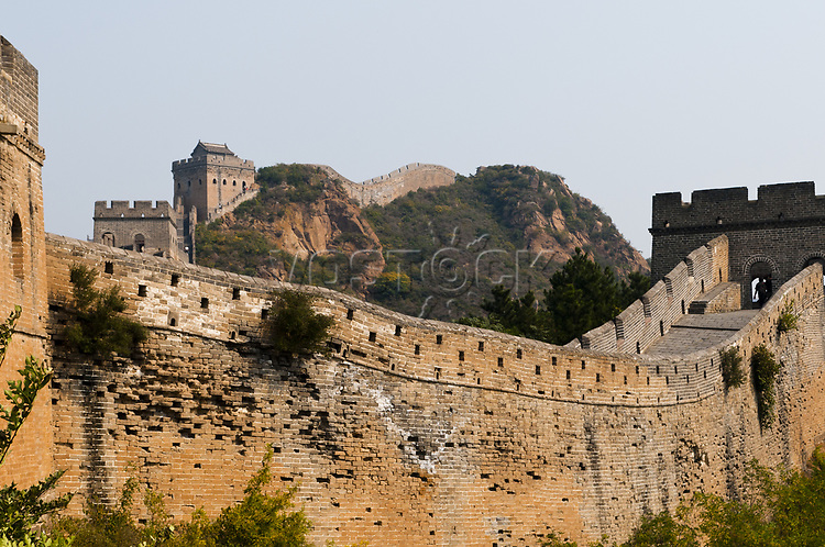 China -  Die Grosse Mauer bei Jinshanling, Kreis Luanping. <br /> <br /> - 26.09.2011<br /> <br /> China - The Great Wall near Jinshanling, Luanping County.<br /> <br /> - 26.09.2011