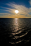 Jurata, 2008-06-20. Zachód słońca nad Zatoką Gdańską, Jurata