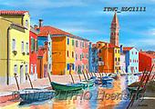 Marcello, LANDSCAPES, LANDSCHAFTEN, PAISAJES, paintings+++++,ITMCEDC1111,#L#, EVERYDAY