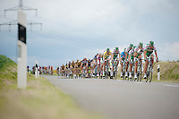 peloton driven by Team Sojasun<br /> <br /> 2013 Tour of Luxemburg<br /> stage 1: Luxembourg - Hautcharage (184km)
