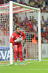 Sevilla's goalkeeper Beto during the match between Sevilla FC and Villarreal day 9 spanish  BBVA League 2014-2015 day 5, played at Sanchez Pizjuan stadium in Seville, Spain. (PHOTO: CARLOS BOUZA / BOUZA PRESS / ALTER PHOTOS)