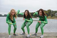 SCHAATSEN: MAARSSEN: InnStyle, 25-10-2012, Perspresentatie Team Activia, Annette Gerritsen, Laurine van Riessen, Diane Valkenburg, ©foto Martin de Jong