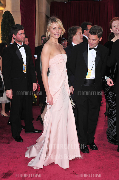 Cameron Diaz at the 80th Annual Academy Awards at the Kodak Theatre, Hollywood, CA..February 24, 2008 Los Angeles, CA.Picture: Paul Smith / Featureflash