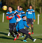 Carlos Peña and James Tavernier