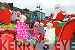 8th December Parade: Santa Claus arriving by carriage in Listowel on Sunday last to take part in the annual 8th December parade.
