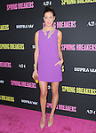 Eva Amurri Martino at The L.A. Premiere of Spring Breakers held at The Arclight Theater in Hollywood, California on March 14,2013                                                                   Copyright 2013 Hollywood Press Agency