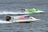 Tom Wright (#50) and Ruben Ascencio III (#65)     (Formula 1/F1/Champ class)