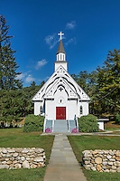 Country church, Cornwall, Connecticut, USA