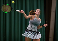 Wateringen, The Netherlands, December 8,  2019, De Rhijenhof , NOJK juniors 14 and18 years, Finals girls 18 years:  Anouk Koevermans (NED)<br /> Photo: www.tennisimages.com/Henk Koster