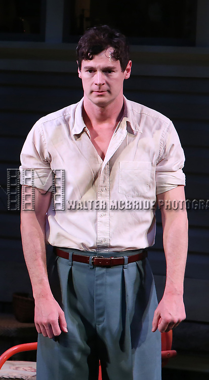 "Benjamin Walker during the Broadway Opening Night Curtain Call for ""All My Sons"" at The American Airlines Theatre on April 22, 2019  in New York City."