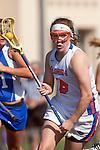 Santa Barbara, CA 02/13/10 - Kate O'Linn (Florida # 6) in action during the UCSB-Florida game at the 2010 Santa Barbara Shoutout, UCSB defeated Florida 9-8.