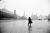 "Moscow, Russia<br /> October 19, 1992<br /> <br /> Red Square.<br /> <br /> In December 1991, food shortages in central Russia had prompted food rationing in the Moscow area for the first time since World War II. Amid steady collapse, Soviet President Gorbachev and his government continued to oppose rapid market reforms like Yavlinsky's ""500 Days"" program. To break Gorbachev's opposition, Yeltsin decided to disband the USSR in accordance with the Treaty of the Union of 1922 and thereby remove Gorbachev and the Soviet government from power. The step was also enthusiastically supported by the governments of Ukraine and Belarus, which were parties of the Treaty of 1922 along with Russia.<br /> <br /> On December 21, 1991, representatives of all member republics except Georgia signed the Alma-Ata Protocol, in which they confirmed the dissolution of the Union. That same day, all former-Soviet republics agreed to join the CIS, with the exception of the three Baltic States."