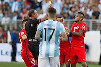 Santa Clara, California - Monday, June 6, 2016: Argentina defeated Chile 2-1 in the Copa America Centenario at Levi's Stadium.