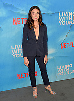 "LOS ANGELES, USA. October 17, 2019: Eden Malyn  at the premiere of ""Living With Yourself"" at the Arclight Theatre, Hollywood.<br /> Picture: Paul Smith/Featureflash"