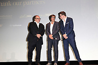 LOS ANGELES - OCT 6: Stefan Arndt, Uwe Schott, Michael Polle at the Babylon Berlin International Premiere held at The Theatre at Ace Hotel on October 6, 2017 in Los Angeles, CA