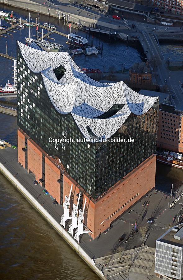 Elbphilharmonie: EUROPA, DEUTSCHLAND, HAMBURG, (EUROPE, GERMANY), 07.01.2018: Elbphilharmonie