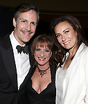 Howard McGillin, Patti Lupone & Laura Benanti.attending the Signature Theatre Stephen Sondheim Award Gala reception honoring Patti Lupone at the Embassy of Italy in Washington D.C. on 4/16/2012.
