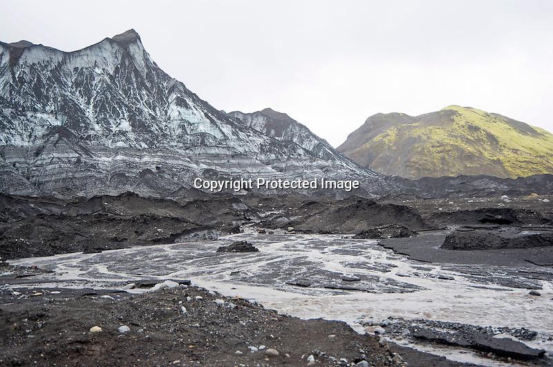 Katla Glacier Iceland