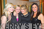 Pictured at the Plaza bar on New Year's Eve were l-r: Linda Ring (Cork) Aileen O'Callaghan (Mallow) Emma Tringle (Cork) Marida Dillane (Millford)