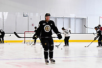 September 15, 2017: Boston Bruins defenseman Connor Clifton (76) skates during the Boston Bruins training camp held at Warrior Ice Arena in Brighton, Massachusetts. Eric Canha/CSM