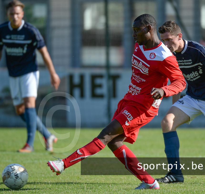 FC Gullegem : Andre Kalenga Ntambue <br /> Foto VDB / Bart Vandenbroucke
