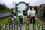 Barry Sugrue, Marguerite Maunsell  Tim Lynch, Denis Sugrue,  Brian O'Shea  launch the Na Gaeil Cycle in aid of Na Gaeil Football Club on Saturday August 30th.  Registration from 8.30am, start time 10.30am