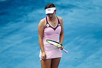 MADRI, ESPANHA, 07 DE MAIO DE 2012 - MUTUA MADRID OPEN - A tenista chinesa Shuai Peng enfrenta Lucie Hradecka durante o Mutua Madrid Open 2012, em Madrid na capital da Espanha, nesta segunda-feira, 06. (FOTO: ACERO / ALFAQUI / BRAZIL PHOTO PRESS).