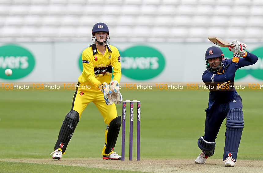 Varun Chopra in batting action during Essex CCC 2nd XI vs Gloucestershire CCC 2nd XI, Second XI T20 Cricket at The Cloudfm County Ground on 5th June 2017