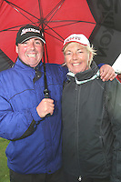 Kevin Beirth and Joan Conaghy at the 3 Irish Open Golf in Baltray...Photo NEWSFILE/Jenny Matthews.(Photo credit should read Jenny Matthews/NEWSFILE)....This Picture has been sent you under the condtions enclosed by:.Newsfile Ltd..The Studio,.Millmount Abbey,.Drogheda,.Co Meath..Ireland..Tel: +353(0)41-9871240.Fax: +353(0)41-9871260.GSM: +353(0)86-2500958.email: pictures@newsfile.ie.www.newsfile.ie.FTP: 193.120.102.198.