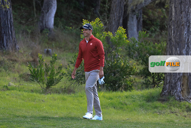 Adam Scott (AUS) during the first round of the AT&T Pro-Am, Pebble Beach Golf Links, Monterey, California, USA. 07/02/2019<br /> Picture: Golffile | Phil Inglis<br /> <br /> <br /> All photo usage must carry mandatory copyright credit (© Golffile | Phil Inglis)