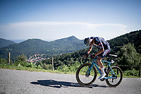 Mathieu Van der Poel (NED/Alpecin-Fenix) fighting up the brutal Muro di Sormano (avg 17%/max 25%)<br /> <br /> 114th Il Lombardia 2020 (1.UWT)<br /> 1 day race from Bergamo to Como (ITA/231km) <br /> <br /> ©kramon