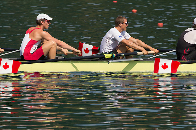 2011 FISA World Rowing Championships, Lake Bled, Bled, Slovenia, Europe, FISA, Rowing Canada Aviron, Canadian Men's Eight, 8+, Malcolm Howard (Victoria, BC) Brentwood College RC, Doug Csima (Oakville, ON) Leander BC, Jeremiah Brown (Cobourg, ON) Victoria City RC,