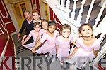 LITTLE BALLERINA'S: Kerry School of Music will be holding a ballet open day on Saturday August 28th: Front to back: Gabriella Fernandez, Emma Connaire, Isabell Fernandez, Georgia Twomey, Isabel Bentley Curran, Aisling O'Carroll, Colette MacGuire Jenson.