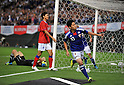 Shinji Kagawa (JPN), AUGUST 10, 2011 - Football / Soccer : Shinji Kagawa of Japan celebrates his second goal during the KIRIN Challenge Cup 2011 match between Japan 3-0 KOREA at Sapporo Dome, Hokkaido, Japan. (Photo by Atsushi Tomura/AFLO SPORT) [1035]